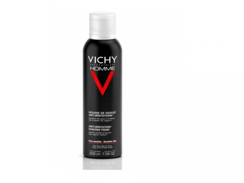 VICHY Homme mousse à raser anti irritations 200 ml