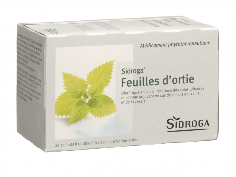 SIDROGA Tisane Feuilles d'ortie 20 sachets 1,5 g