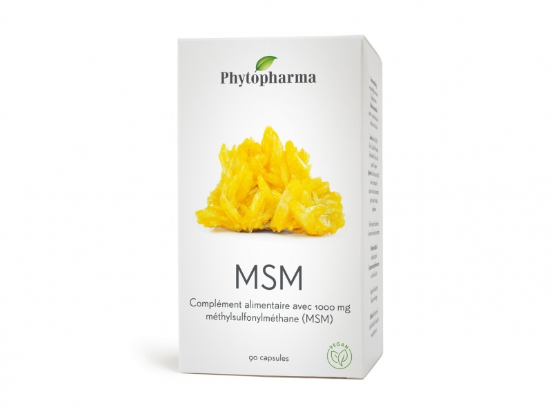PHYTOPHARMA MSM Capsules 1000 mg 90 Pièces