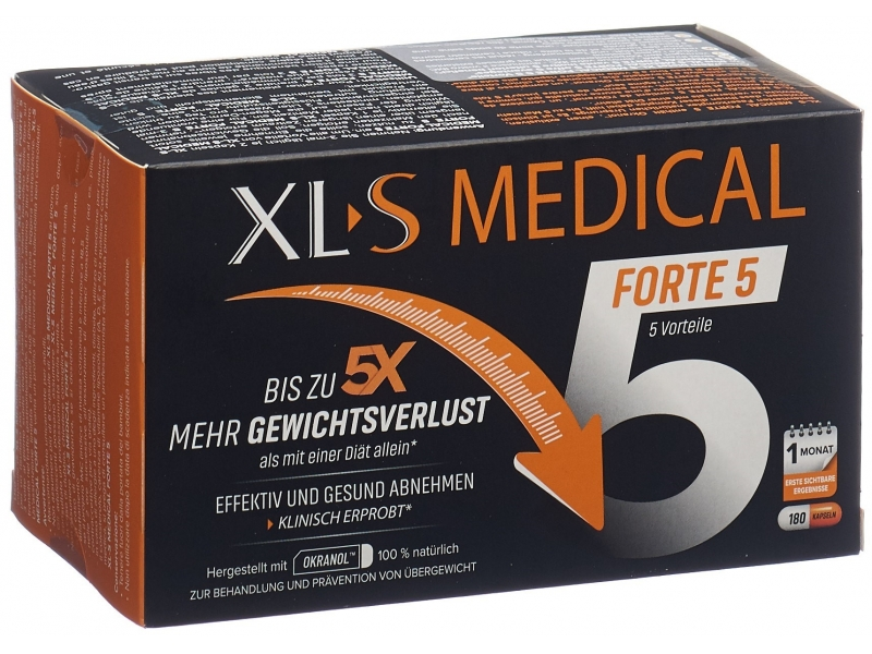 XL-S MEDICAL Forte 5 caps blist 180 pce