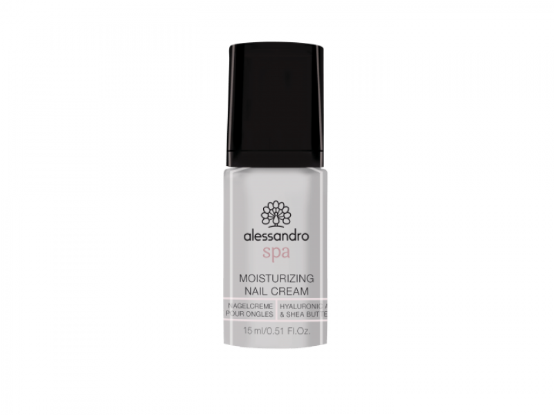 ALESSANDRO NAIL SPA MOISTURIZING NAIL CREAM Hyaluronic Acid & Shea Butter Crème pour ongles 15 ml
